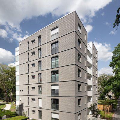 Mehrgeschossiger Wohnungsbau, Erlangen (Holzunion) © BUCK Fotodesign
