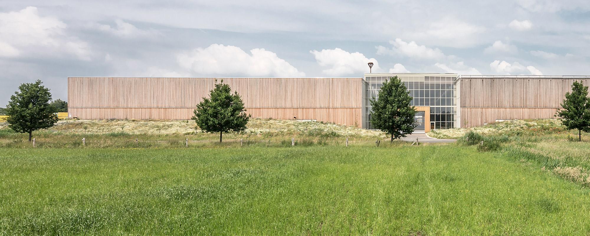 Objektbau in Holzrahmenbauweise, Referenz Karl Hoffmeister GmbH