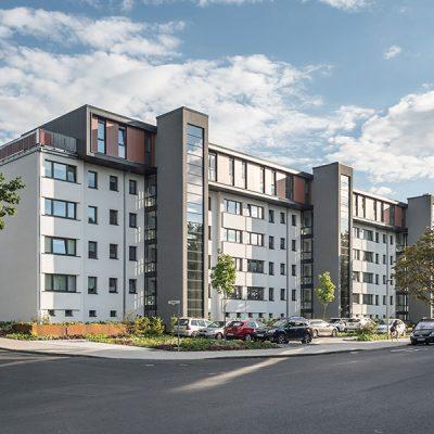 Mehrgeschossiger Wohnungsbau, Göttingen Weserstraße