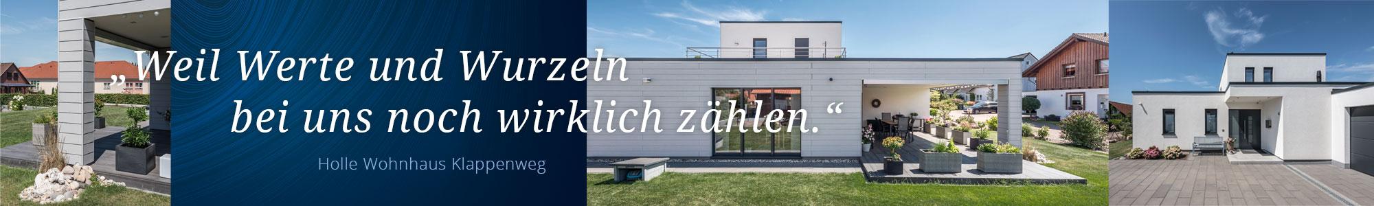 Privathausbau mit Hoffmeister